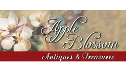 Apple Blossom Antiques-Waverly Logo